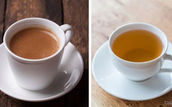Что выбрать на завтрак: чай или кофе