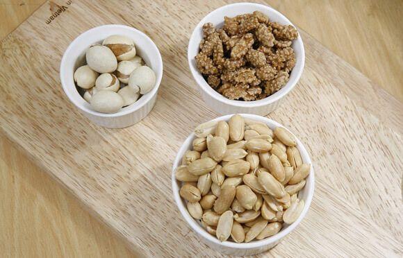 Богатый состав арахиса