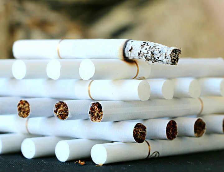 Информация о табакокурении